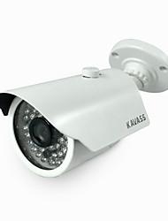 kavass® hd 720p étanche p2p cmos 1.0MP caméra ip / 54 LED IR de vision nocturne