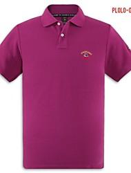 U&Shark Men's Fine Cotton Short Sleeve Polo Shirt/polo-041