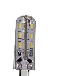 2W G4 Bombillas LED de Mazorca T 24 SMD 3014 180-220 lm Blanco Cálido / Blanco Fresco Decorativa DC 12 / AC 100-240 / AC 12 V