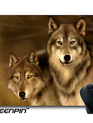 SEENPIN Personalized Mouse Pads Wolf Design