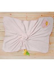 Pink Cute Love W30XL43inch(W76XL110cm) 100% Polyester Coral fleece Blanket/Throw, Baby's Blanket