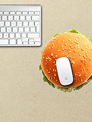 o mouse pad projeto decorativo hamburger