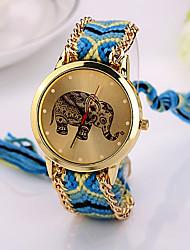 2015 слон дружба браслет смотреть Женева Смотреть дамы quarzt часы