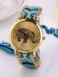 2015  Elephant Friendship Bracelet Watch GENEVA Watch Ladies Quarzt Watches Cool Watches Unique Watches