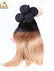 3pcs/Lot 10''-26'' Color 1B27 Eurasian Virgin Hair Silk Straight Human Hair Boundles
