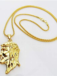 Retro Icon Hip-hop High Polish Necklace