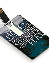 4gb hoopontwerp kaart usb flash drive