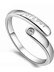 kiki 925 Silber koreanischen Art und Weise für immer Ring