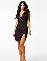 Vestidos ( Negro , Poliéster/Licra , Desempeño/Ropa de Noche ) - Desempeño/Ropa de Noche - para Mujer
