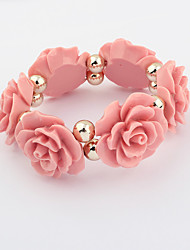 Lucky Star Women's Fashion Ball Flower Bracelet More Colors