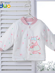 Ajiduo Newborn Baby Boys Girls Cute Clothing Infant Pure Cotton Winter Tops Clothes