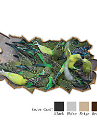 3D The Parrot Table Stickers Table Decals