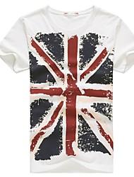 New E-BAIHUI Brand 100% Cotton Union- Jack Clothing Male Slim Fit Man T-shirts Casual T-Shirts Skateboard Swag