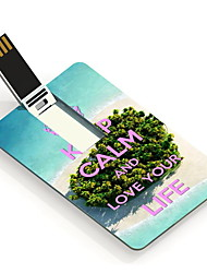 64GB Keep Calm Design Card USB Flash Drive