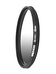 MENGS® 62mm Graduated GREY Filter For Canon Nikon Sony Fuji Pentax Olympus Etc Digital Camera
