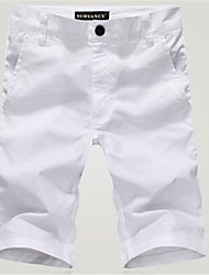Men's Shorts , Casual/Work Pure Cotton