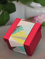 12 Piece/Set Favor Holder - Cubic Metal Gift Boxes/Favor Boxes/Favor Tins and Pails Non-personalised