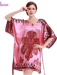 Women Polyester/Silk/Spandex Babydoll & Slips/Chemises & Gowns/Robes/Satin & Silk/Ultra Sexy Nightwear