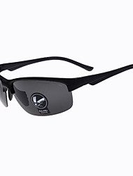 Cycling Men's 100% UV400 Polarized Alloy Wrap Sports Glasses(Assorted Color)