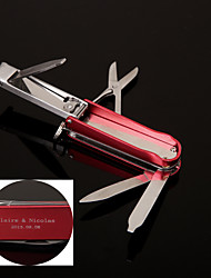 Personalized Gift   Nail Clippers Keychain Stainless Steel Lovers
