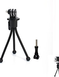 JUSTONE Mini 4-inch Metal Tripod Stand Holder for Camera and GoPro Series and Others