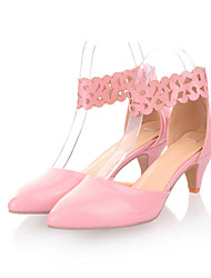 Chaussures Femme - Habillé - Noir / Rose / Beige - Talon Aiguille - Talons / Bout Pointu - Talons - Similicuir