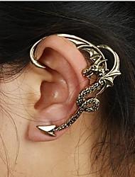 Brinco Punhos da orelha Jóias 1pç Casamento / Pesta / Diário / Casual Liga Feminino Bronze / Prateado