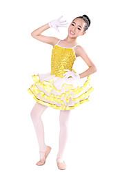 Vestidos (Azul/Oro/Morado , Chinlon/Nylón/Tul , Ballet) - Ballet - para Mujer/Niños