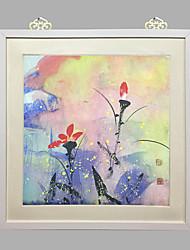paysage / Fleurs / Botanique / Nature morte / motivation / figuratif / fantastique / loisirs encadrée mis cadre blanc art mural