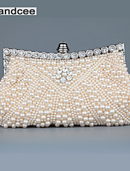 Handcee® Women Fashion Pearl Beaded Evening Bag