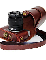 Dengpin PU Leather Oil Skin Detachable Camera Cover Case Bag for Fujifilm X-A2 X-A1 X-M1 (Assorted Colors)