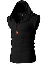Hugo Men's Casual Hoodie Sleeveless T-Shirts
