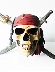 Pirate Skull Head Terrorist Toy