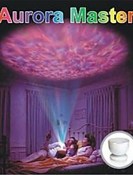 0.25W красочные проекции цвет лампа со звуковой USB LED свет ночи