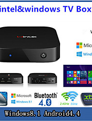 - Private Mode - TV Box - Quad Core - für Windows 8.1 - 32GB NAND Flash - ROM 2GB DDR3 - RAM Intel