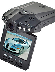 HD Car DVR Traveling Driving Data Recorder Camcorder Vehicle Camera With 120 Degree Angle View Black