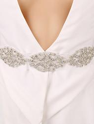 Pure Handmade Luxury Diamond Wedding Corset Belt