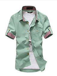Men's Casual Short Sleeve Shirts