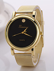 Women's Dress Watch Fashion Watch Wrist watch Quartz Alloy Band Gold Brand