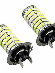 7W 9006 / H7 / 9005 / H8 / H11 Lampe de Décoration 120 SMD 2835 1000-1200 lm Blanc Froid Décorative DC 12 V 1 pièce