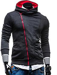 Informell Kapuzenshirt - Langarm - MEN - Pullover mit / ohne Mützen ( Organische Baumwolle )
