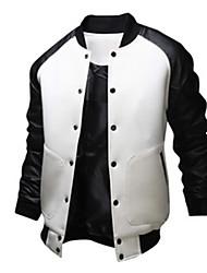 H2O Men's Casual Bateau/Round Long Sleeve Coats & Jackets