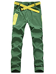 Bedouin Men's Breathable and Quick Dry Hiking Pants  with Front Zipper for Spring Summer and Autumn