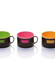 doces coloridos café Nakaya caneca copo de chá com alça (cor aleatória) 10.4 * 6.7 * 2 centímetros