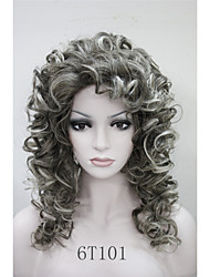 cabeleira encaracolada sintético nova moda das mulheres charmosas 50 centímetros