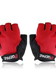 luvas sem dedos de ciclismo bicicleta bicicleta ao ar livre esportes anti-derrapante respirável tamanho luvas metade do dedo (m / l / xl)