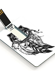4gb o lobo eo flash drive USB Cartão do projeto Dream Catcher
