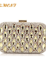 L.WEST® Women's High-end Glass Drill Party/Evening Bags