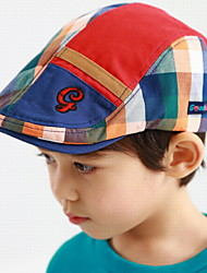 Boy's Colorful Embroidered Cap(Random Color)