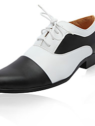 Men's Shoes Wedding/Office & Career/Party & Evening Leather Oxfords White